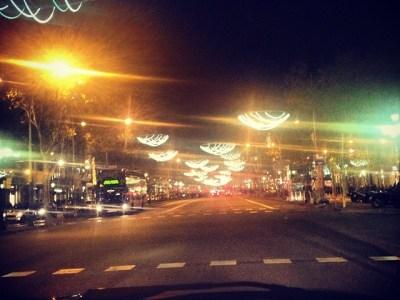 Las luces navideñas de Paseo de Gracia son un homenaje a La Collares
