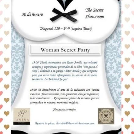 the secret showroom woman secret party roser amills