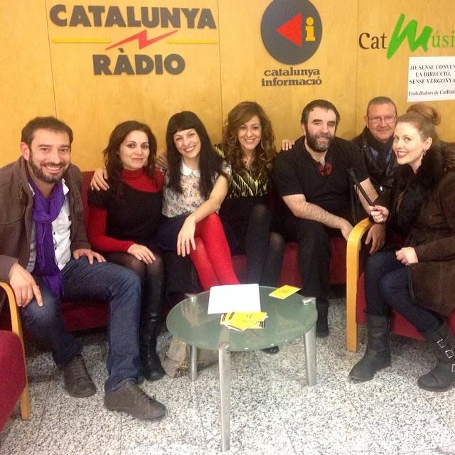 Pere Estupinya i Roser Amills a Catalunya Radio