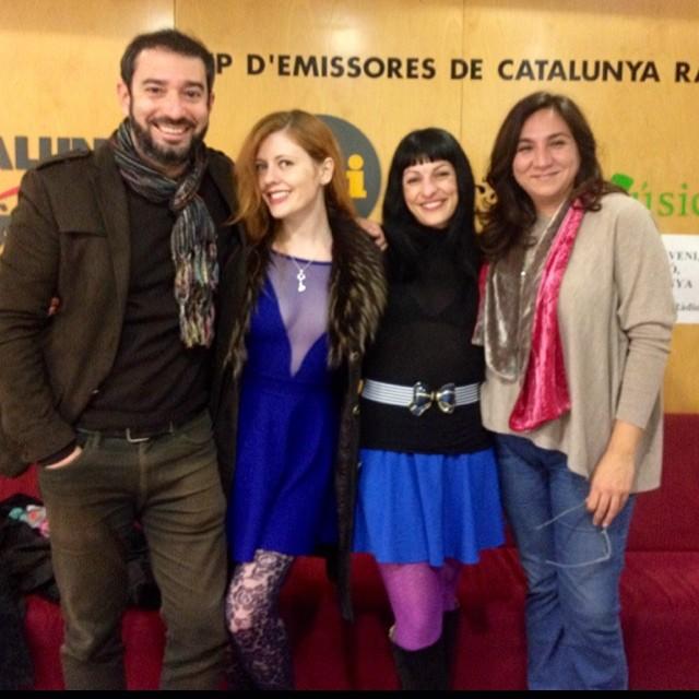 Roser Amills y Pere Estupinya a Catalunya Radio
