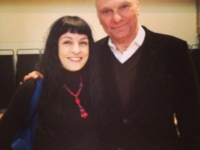 Amb el Carles Sans de El Tricicle al premi #bibliotecabreve d'enguany: bona sobretaula!