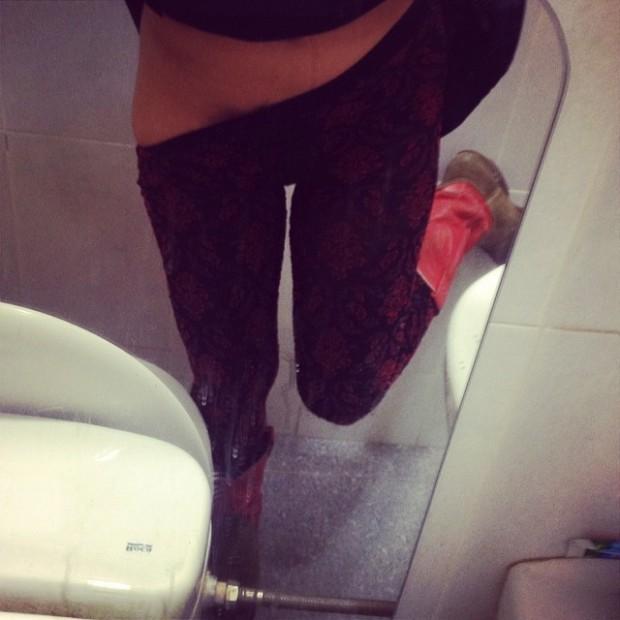 roser amills medias cuarto de baño