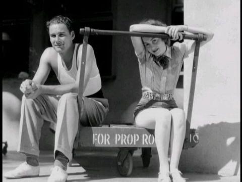 Errol Flynn and Olivia de Havilland