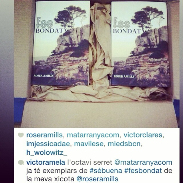 A la Llibreria Serret ja hi ha exemplars de #sébuena #fesbondat !!!