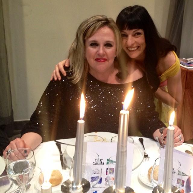 Roser Amills y Silvia Tarragona premios APEI