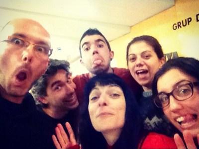 Ja hem fet el nostre #selfie #oscar2014 des de #miliunanits: avui, de tècniques x lligar ;))
