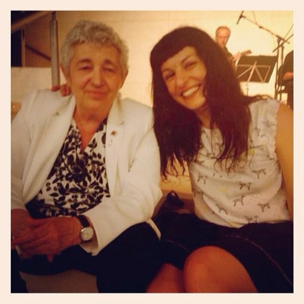 Roser Amills con Ana maria Moix