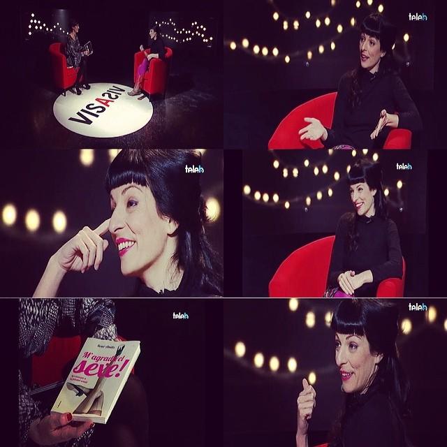 Ja podeu veure l'entrevista que em va fer Tuti Garcia al web de Badalona TV ;)) #magradaelsexe
