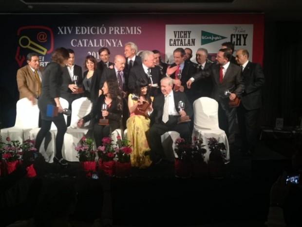 foto de grupo premios apei 2014 vichy catalan 4