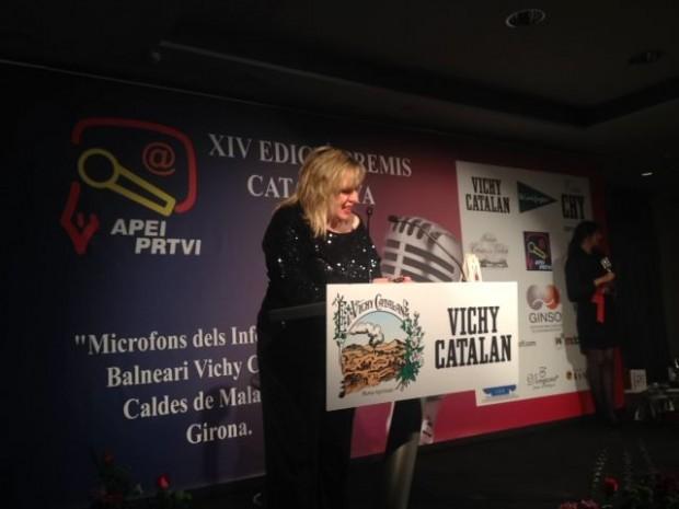 silvia tarragona ceremonia premios apei 2014