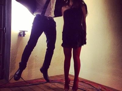 Amb Jordi Sellas hem saltat ben alt avui vespre;))