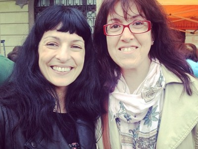 Amb Eva Gimenez Alonso a Vilassar de mar | Diada del llibre i els lectors