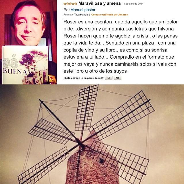 Reseña de Manuel Pastor para #sébuena (búscala en http://Amazon.es)