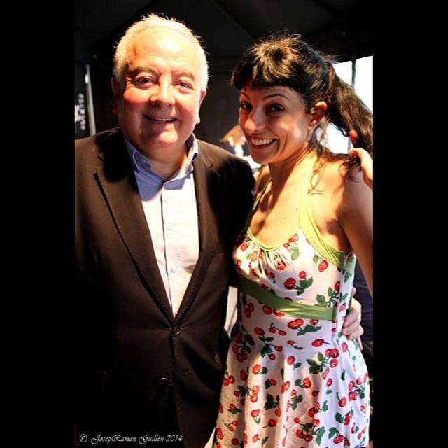 Con Antonio Bolinches