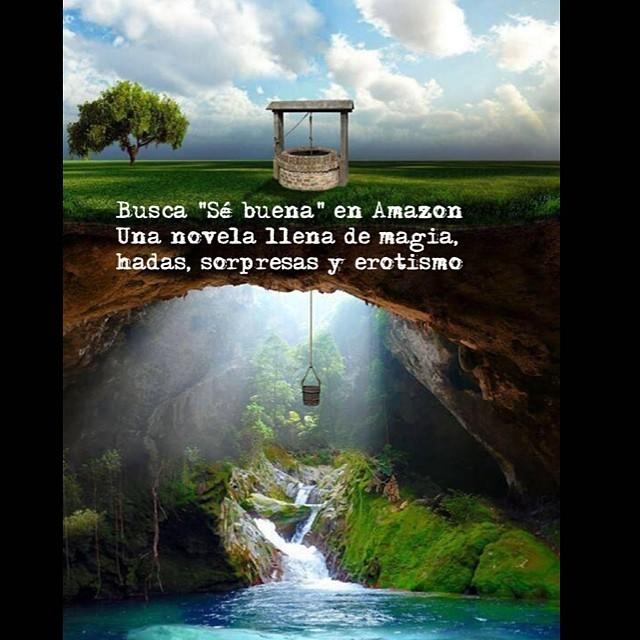 """Busca """"Sé buena"""" en Amazon Una novela llena de magia, hadas, sorpresas y erotismo #sébuena (en català, #fesbondat)"""