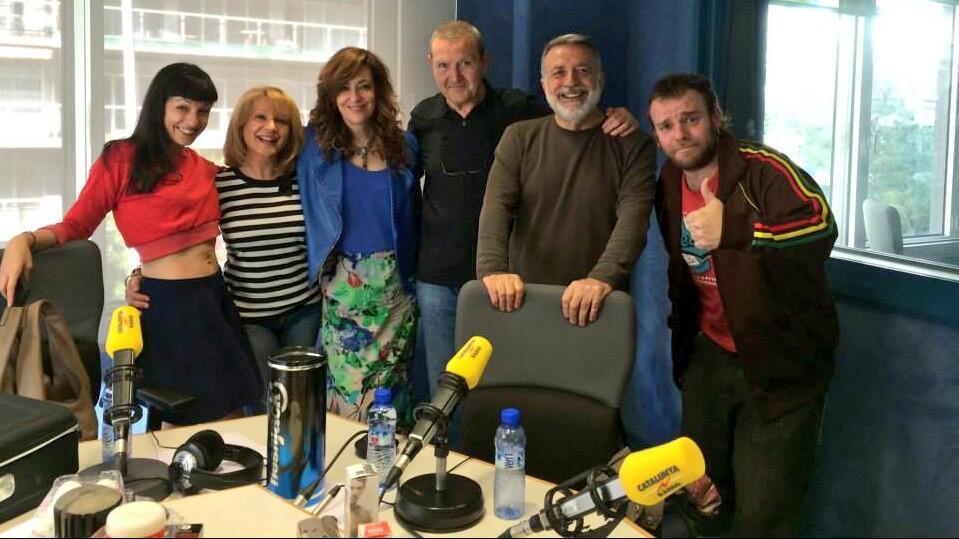 ROSER AMILLS a mil i una nits de catalunya radio maig 2014