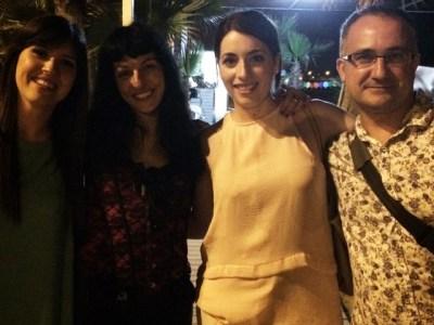 Amb Meritxell Martinez, Jordi Guillamet, Laura Vives, grans i genials!!!