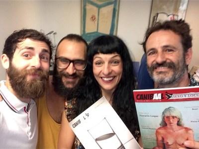 A punto de presentar la revista #canibaal en el Ateneu Barcelonés