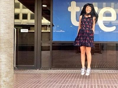A la tele voy La 2 de TVE, al programa Vespre a La 2 a #tocarlapera ;))
