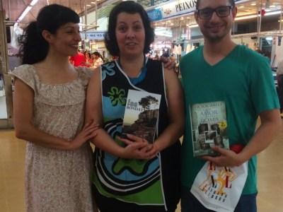 Ha sido un placer enorme firmar #sébuena #fesbondat en el mercado de Vilanova i la Geltrú!!!