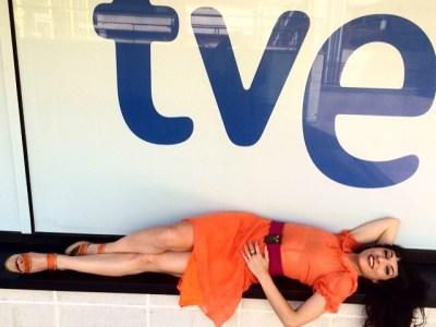Amb Mabel Martí @senolaph l'alegria no falta! Què bé hem estat a @vespreala2 de @la2_tve ;))