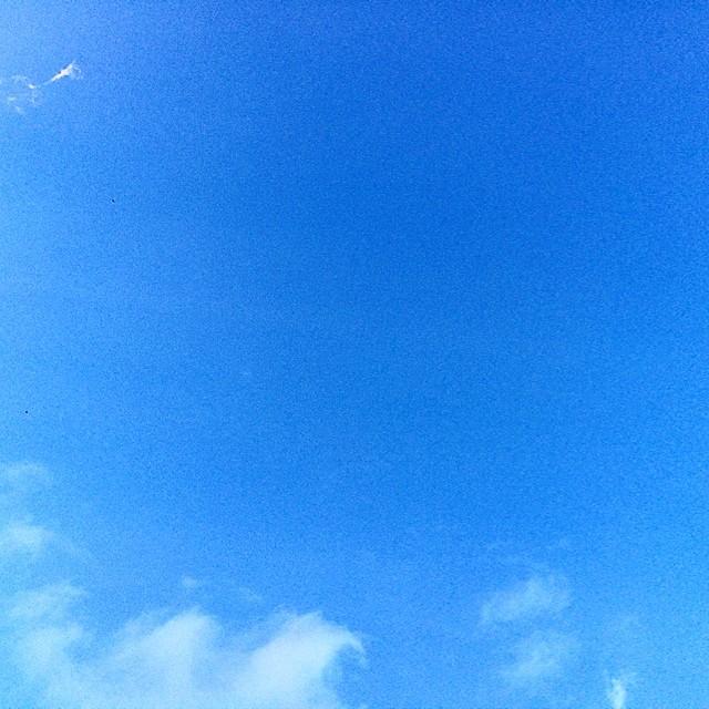 cielo azul barcelona