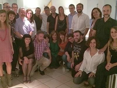 Equip gairebé sencer de #miliunanits de Catalunya Ràdio !!!