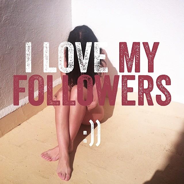 i love my followers roser amills