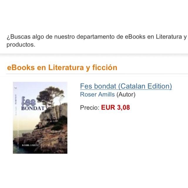 novela se buena de roser amills en amazon disponible ya