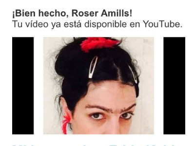 Habéis visto ya mi tributo a Frida Kahlo? Está en mi canal de Youtube ;))