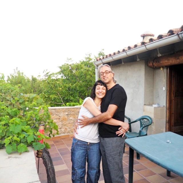 roser amills y victor amela primera cita en horta julio agosto 2010