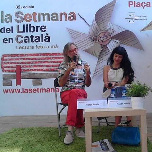 Avui diumenge acaba La Setmana del llibre en català, Gràcies per convidar-nos a participar-hi!!!!