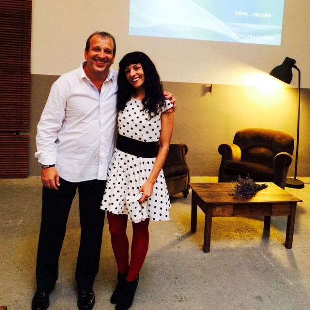 Esta tarde charlo con Sergio Haimovich evento organizado Bayer: información y anticonceptivos