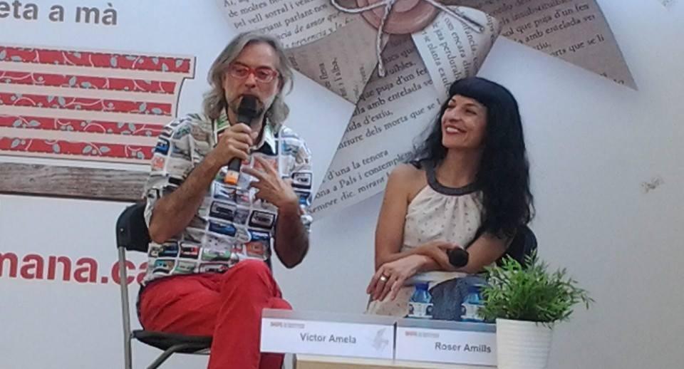 roser amills i victor amela setmana del llibre en catala 2014 14