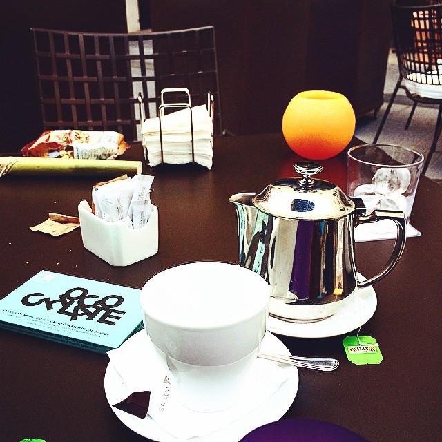 desayuno cafe del hotel gallery barcelona