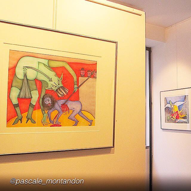 pascale montandon jodorowsky expo cuadros belgica