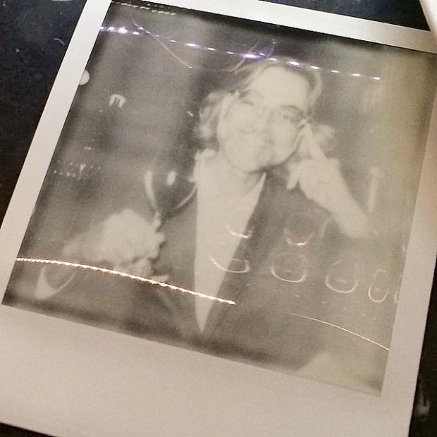 polaroid de victor amela por roser amills