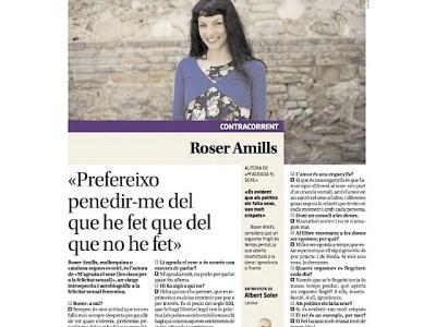 """Diari de Girona: """"Prefereixo penedir-me del que he fet que del que no he fet"""""""