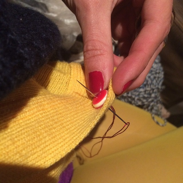 A punto de salir... Y hay que coser un botón ;))