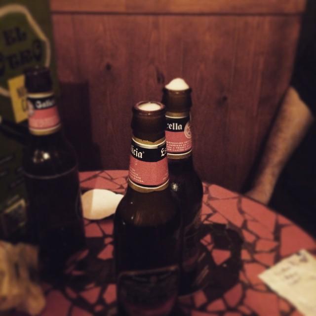 Cerveza = alegría!!