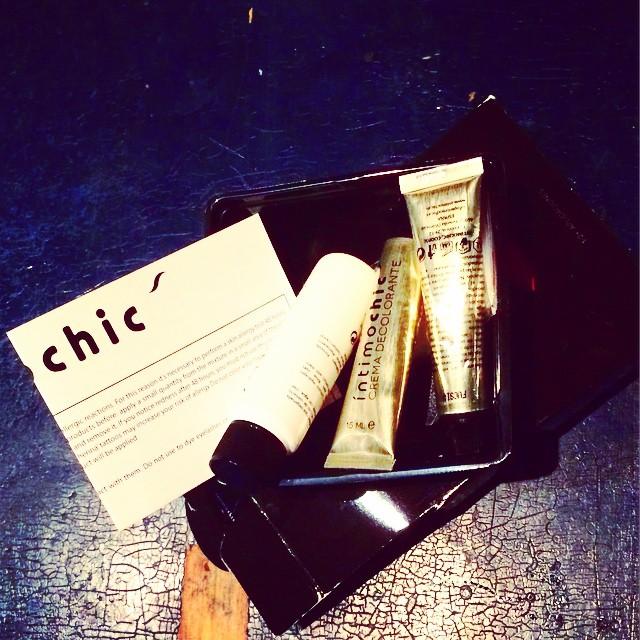 El ANTES del #chichirosafucsia para la Noche buena :)) En un rato, el resultado :))