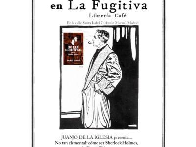 Si el 4 estás en Madrid visita #notanelemental de mi amigo @danieltubau y come berenjenas fugitivas ;))