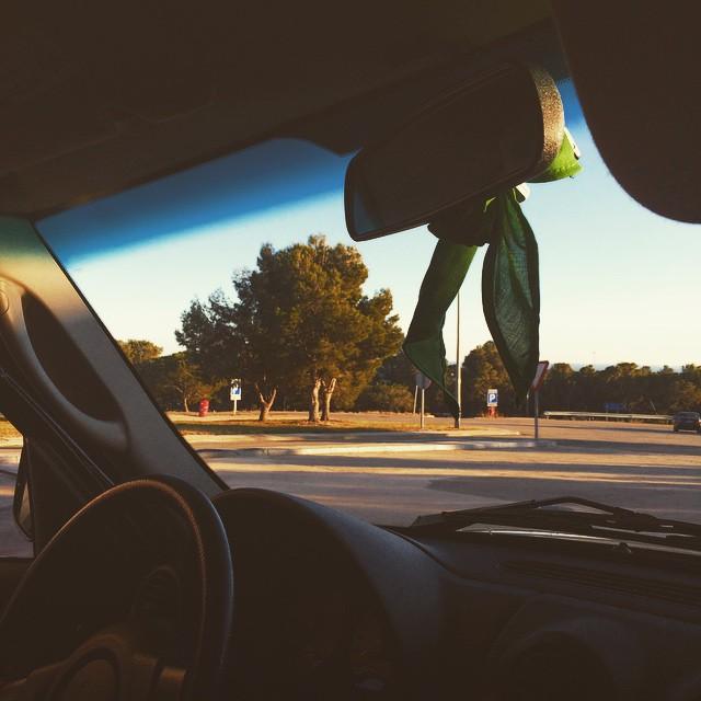 De viatge cap a #matarranya que avui li donen un premi al meu xicot @victoramela ;))
