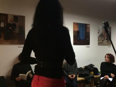 I ja he recitat lo meu #ambaccentalaneutra (foto de na Joana Abrines )