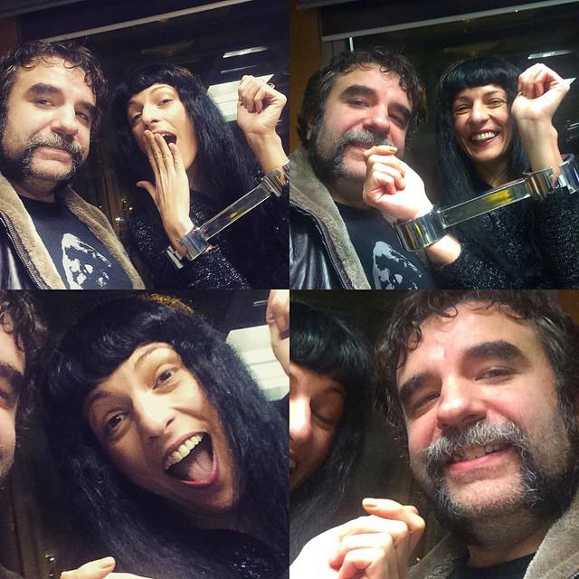 Lo más divertido del programa de ayer fue que @joseplapidario volviera a atarme un poquito ;)) @catalunyaradio