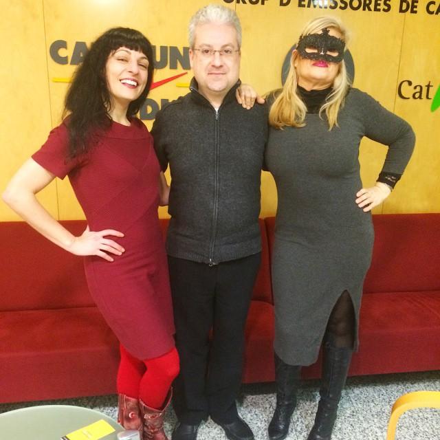 Catalunya Ràdio | A punt de començar el programa d'avui!!! Atenció, parlem de coses prohibides :))
