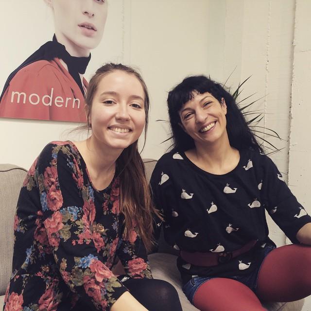 Un reencuentro que me ha alegrado mucho el día, @annapacheco__ :))