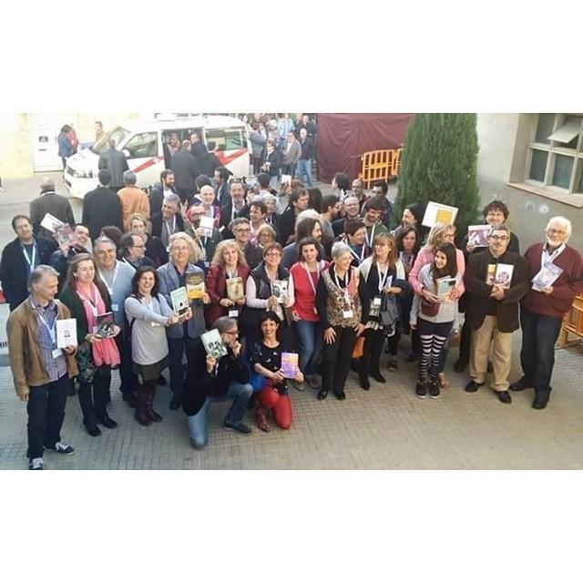 Un milió de gràcies a la Teresa de @elcucutllibre per la meravellosa trobada d'escriptors d'ahir a Torroella de Montgrí !!