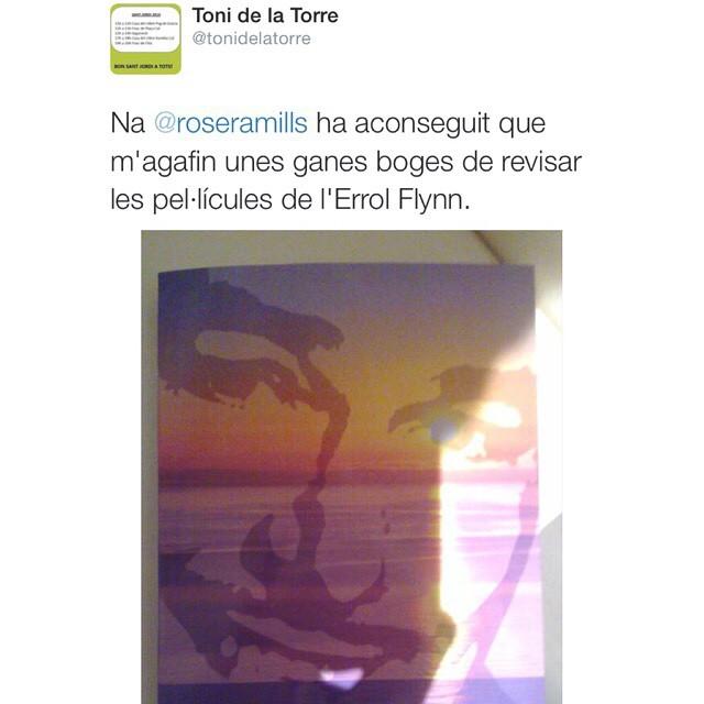 #elecuadordeulises també és la lectura triada pel fantàstic Toni de la Torre :)) Gràcies, mil gràcies!!