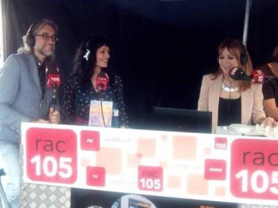 Admirats de la bona feina de la Montse Vidal i el meravellós equip que fa possible Rac 105 ;)) #elecuadordeulises #santjordi2015